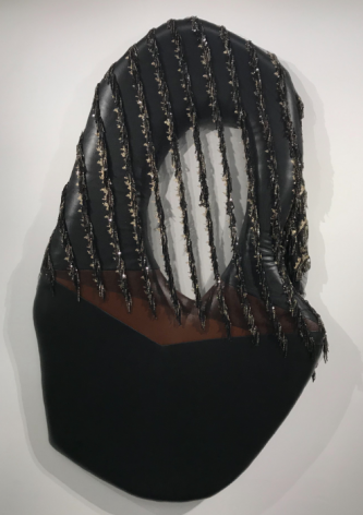 Baseera Khan  Seat 34 Black with Lace, 2019