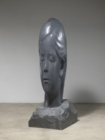 Jaume Plensa Ines, 2019 Granite 74.8 x 25.59 x 29.53 inches (190 x 65 x 75 cm) (GL14548)