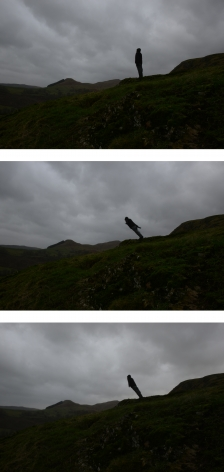 Andy Goldsworthy, Leaning into the wind