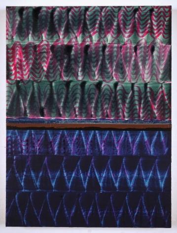 Juan Uslé Dos lenguas, 2019-2020 Vinyl dispersion and dry pigment on canvas 24.02 x 18.11 inches (61 x 46 cm) GL14557