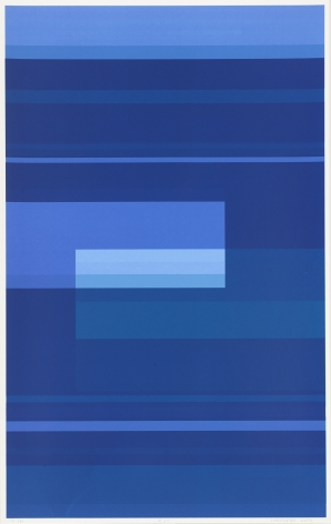Kate Shepherd  Splendor of Duration, Triumph of the Moment #39b, 2013   Screenprint on Coventry Rag paper 39.5 x 24.75 inches (100.3 x 62.9 cm) Framed: 42.25 x 27 x 2 inches (107.3 x 68.6 x 5.1 cm)   Edition 1 of 1  GL9369.1