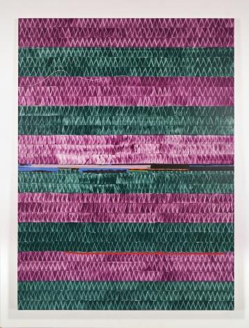 Juan Uslé Soñé que revelabas (Krishná), 2020 Vinyl dispersion and dry pigment on canvas 120.08 x 89.76 inches (305 x 228 cm) GL14564