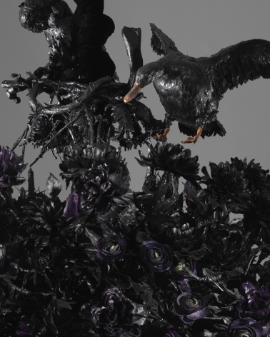 Petah Coyne Untitled #1408 (The Lost Landscape) (detail), 2015-18