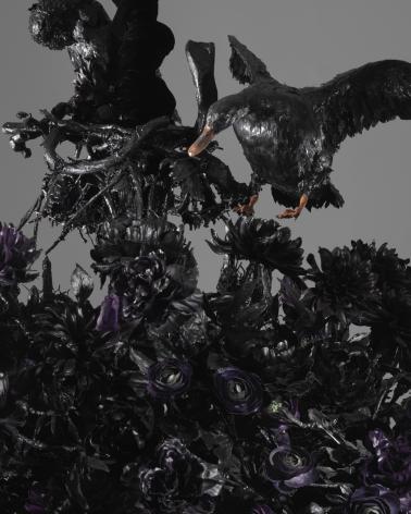 Petah Coyne Untitled #1408 (The Lost Landscape) (detail), 2015-18