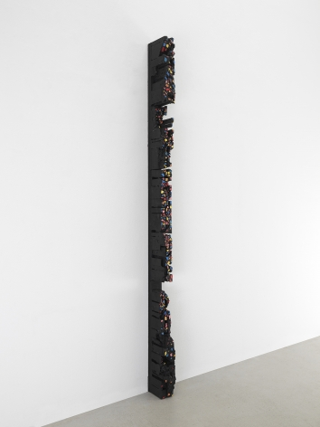 Leonardo Drew Number 287, 2021 Wood and paint 78 x 2.75 x 6 inches (198.1 x 7 x 15.2 cm) (GL14941)