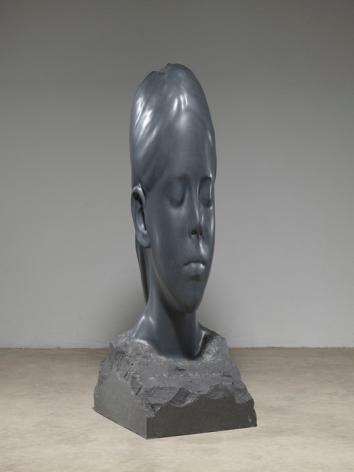 Jaume Plensa Paula, 2020 Granite 74.8 x 25.6 x 29.5 inches (192 x 65 x 75 cm) 1,126 kg (GL14503)