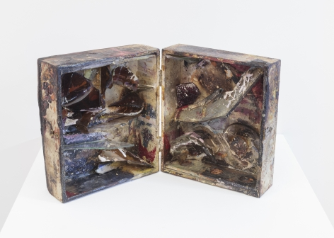 Carolee Schneemann Fire-Controlled Burning: Darker Companion, 1962