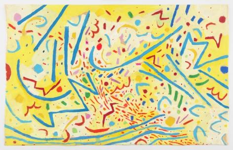 Mildred Thompson Magnetic Fields V, 1991