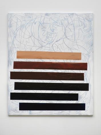 Tariku Shiferaw Slide (H.E.R.), 2021 Acrylic on canvas 72 x 60 inches (182.9 x 152.4 cm) (GL14974)