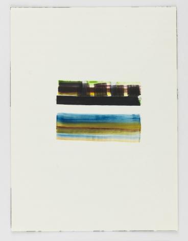 Juan Uslé En Benissa, 2018 Watercolor on paper 12.2 x 9.06 inches (31 x 23 cm) GL14584