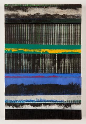 Juan Uslé Los azules perdidos, 2019 Vinyl dispersion and dry pigment on canvas 18.1 x 12.2 inches (46 x 31 cm) (GL14211)