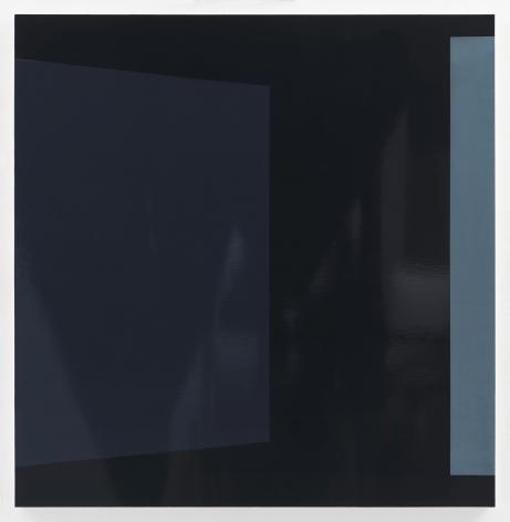Kate Shepherd Blackboard, 2019 Enamel on panel 42 x 41 inches (106.7 x 104.1 cm) GL14491 (Photographed with reflections)