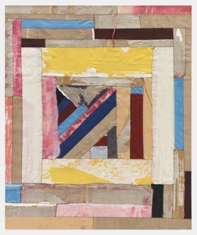 Deconstructed print portfolios on canvas