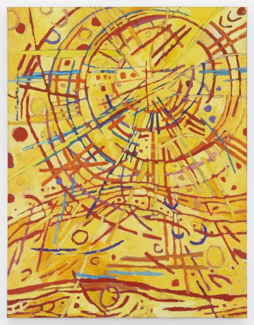 Mildred Thompson Magnetic Fields, 1990