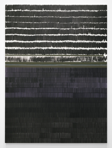 Juan Uslé Soñé que revelabas (Ohio), 2021 Signed, titled, and dated on reverse Vinyl, dispersion, and dry pigment on canvas 98 3/8 x 72 1/8 in (250 x 183 cm) (GL15016)