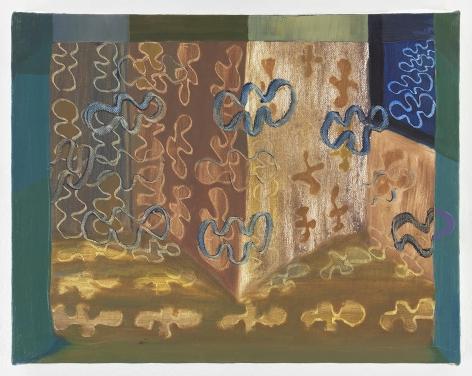 Ficre Ghebreyesus Untitled, c.2002-07 Acrylic on canvas 11 x 14 inches (27.9 x 35.6 cm) Framed: 13.5 x 16.5 x 1.75 inches (34.3 x 41.9 x 4.4 cm) GL13750