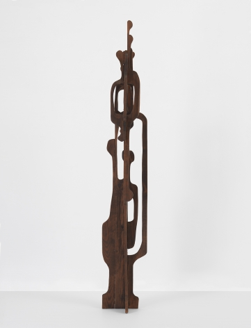 Mildred Thompson Untitled, from the Vespers Series, c. mid-1990s Wood 80 x 13 x 11 inches (203.2 x 33 x 27.9 cm) (GL13158)