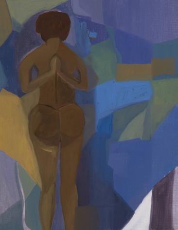 Ficre Ghebreyesus Yogi, c.2002-07 Oil on canvas 14 x 11 inches (35.6 x 27.9 cm) Framed: 16.5 x 13.5 x 1.75 inches (41.9 x 34.3 x 4.4 cm) GL13729