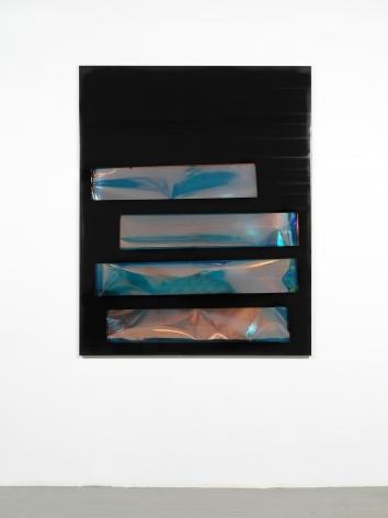 Tariku Shiferaw Ivy (Frank Ocean), 2019 Spray paint, iridescent film, mylar, vinyl 60 x 48 inches (152.4 x 121.9 cm) GL14804