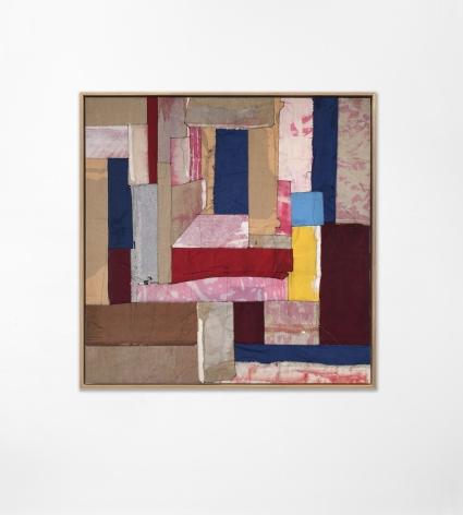 Samuel Levi Jones House of Leaves, 2020 Portfolio on canvas 50 x 50 inches (127 x 127 cm) 52 x 52 inches (132 x 132 cm) (framed) GL14336