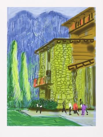 David Hockney, The Yosemite Suite No.1, 2010