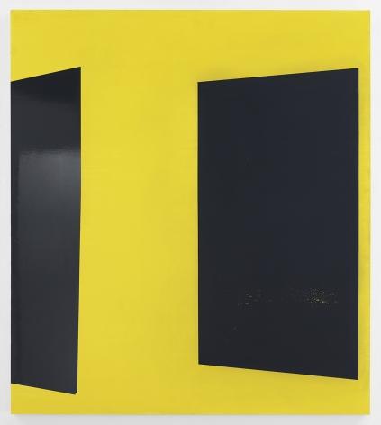Kate Shepherd YellOw, 2020 Enamel on panel 52 x 46 inches (132.1 x 116.8 cm) GL14486