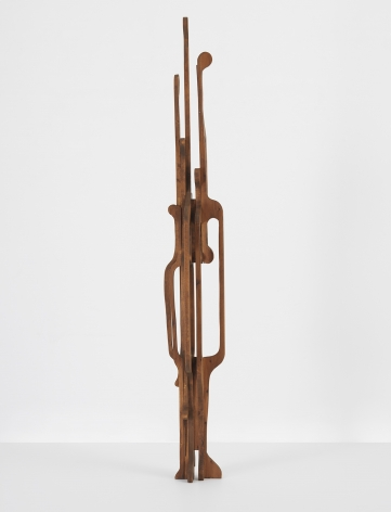 Mildred Thompson Untitled, from the Vespers Series, c. mid-1990s Wood 71 x 9 1/2 x 8 1/2 in (180.3 x 24.1 x 21.6 cm) (GL13160)