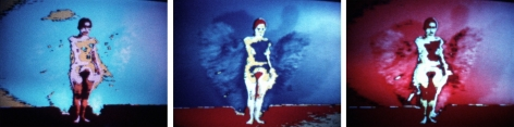 Ana Mendieta  Butterfly, 1975  Stills from super-8mm film transferred to high-definition digital media, color, silent Edition of 6