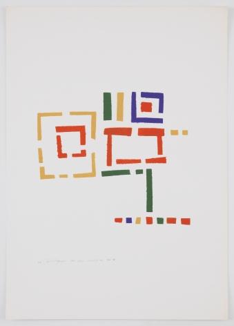 Mildred Thompson, Untitled (No #IV), 1973