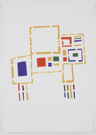 Mildred Thompson, Untitled (No #III), 1973