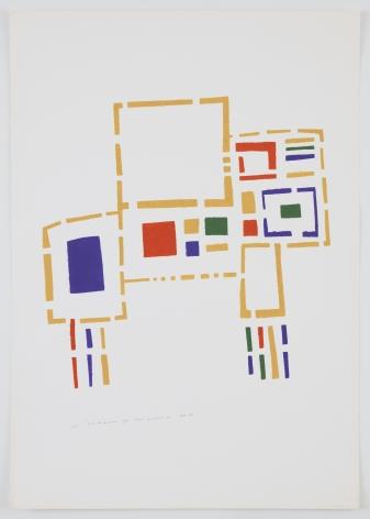 Mildred Thompson, Untitled (No #III), 1973