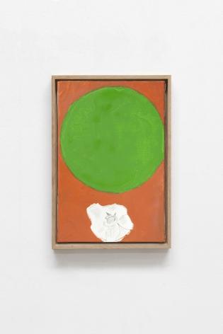 Etel Adnan Planète 8, 2019 Oil on canvas 13 x 9.5 inches (33 x 24 cm) Framed: 14.25 x 9.9 inches (36.2 x 25.2 cm) GL14747