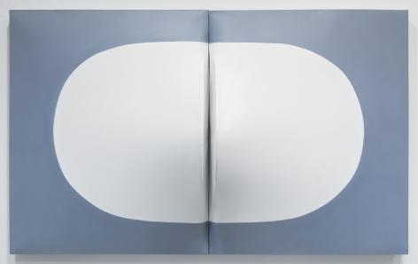 Zilia Sánchez Conexión [Connection], 1999 / 2018 Acrylic on stretched canvas 46.75 x 76.75 x 13 inches (118.7 x 194.9 x 33 cm) GL12737