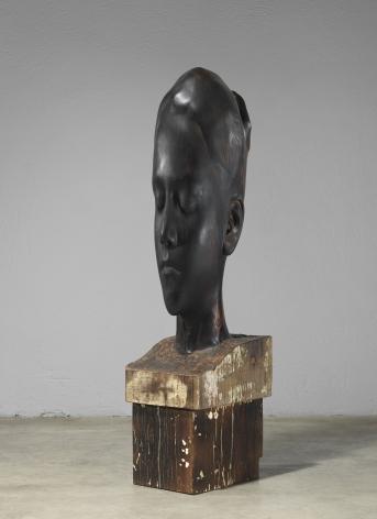 Jaume Plensa Carlota, 2019 Wood 58.3 x 13.8 x 20.5 inches (148 x 35 x 52 cm) (GL14502)
