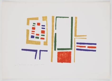 Mildred Thompson, Untitled (No #V), 1973