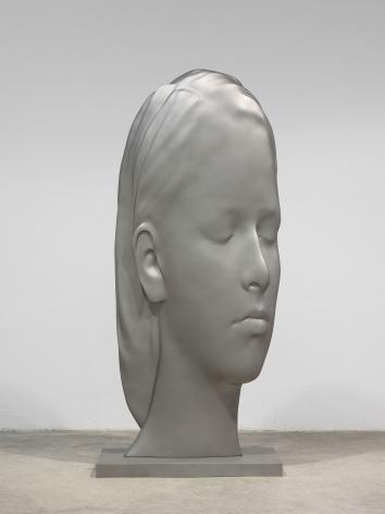 Jaume Plensa CARLA, 2020 Stainless steel 120 7/8 x 30 3/4 x 55 1/8 in (307 x 78 x 140 cm) 796 kg (GL15063)