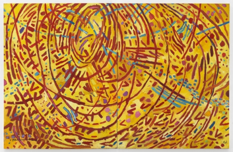 Mildred Thompson Magnetic Fields, 1991