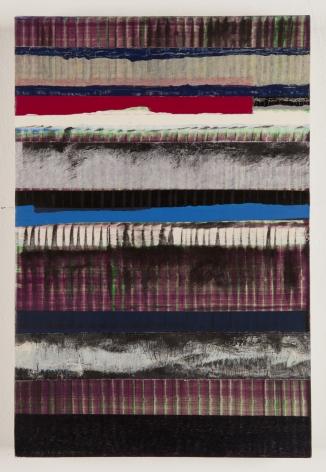 Juan Uslé Tierra dura, 2019 Vinyl dispersion and dry pigment on canvas 18.11 x 12.2 inches (46 x 31 cm) GL14208
