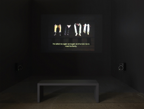 Krzysztof Wodiczko, Four Public Projections, 2020 [still from The Kunstmuseum Projection (2008)]. Video, Running time: 22 minutes 36 seconds.