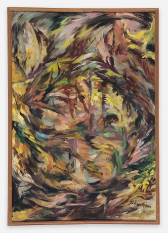 Carolee Schneemann Early Landscape, 1959