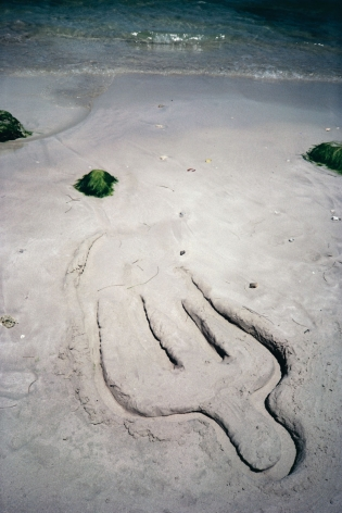 Ana Mendieta  Untitled, 1981 / 2019  Color photograph  20 x 16 inches (50.8 x 48.3 cm)  Framed: 29.1 x 21.9 x 1.25 inches (74 x 55.6 x 3.2 cm)  Edition of 10 with 2 APs