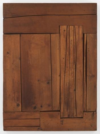 Mildred Thompson Zylo-Probe, c. 1975 Wood 48 x 35 1/4 x 2 in (121.9 x 89.4 x 5.1 cm) (GL14853)