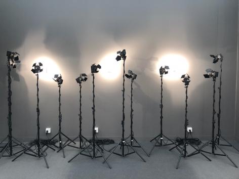 Alfredo Jaar photographic installation