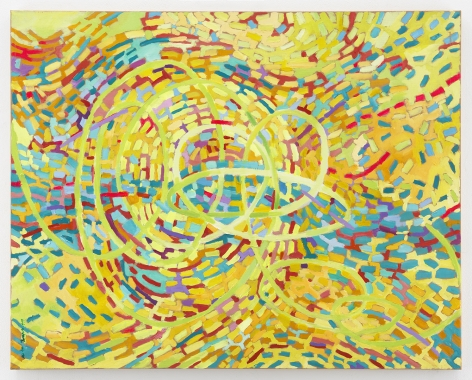 Mildred Thompson String Theory 11, 1999