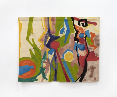 Etel Adnan Vignoble, 2018 Tapestry 59 x 72.9 inches (150 x 185.1 cm) Edition of 3 with 1 AP GP2377