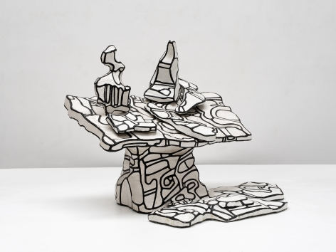 Jean Dubuffet, Table à la Carafe, 1968
