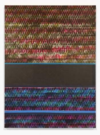 Juan Uslé Soñé que revelabas (Guadalquivir), 2019-20 Vinyl dispersion and dry pigment on canvas 108.3 x 79.9 inches (275 x 203 cm) (GL14563)