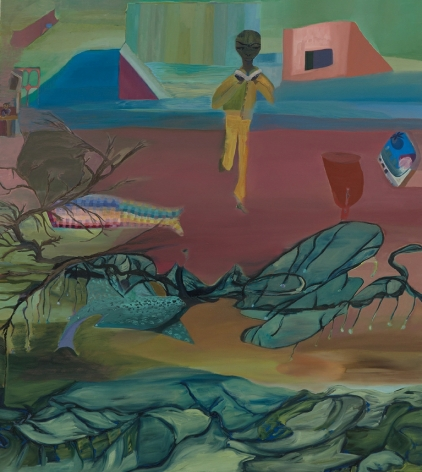 Mangia Libro, c. 2007 Acrylic on canvas 54.25 x 48.1 inches (137.8 x 122.2 cm) GL13425
