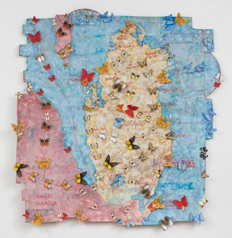 Jane Hammond All Souls (Az Zubarah), 2015