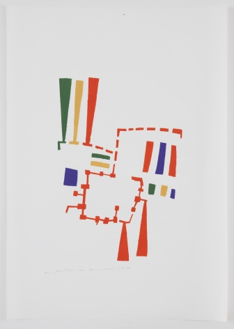Mildred Thompson, Untitled (No #VII), 1973